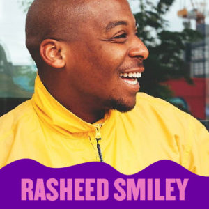 Host Rasheed Smiley